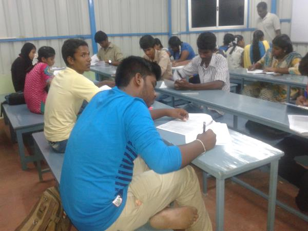 TODAY WE CONDUCTED PHYSICS EXAM FOR PKUS TWO STUDENTS - by shree sai Institute, Chennai