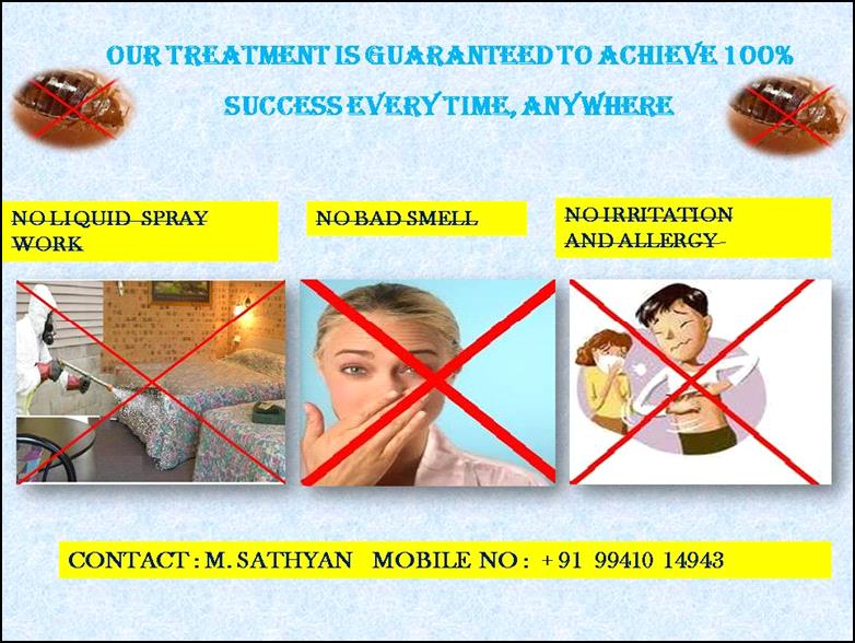 bugs treatment in mylapore .....bedbugs treatment in madurai - by Aqua Pest Control Pvt Ltd.                                                                                 Cell 9941014943 Off:044-24617621, Chennai