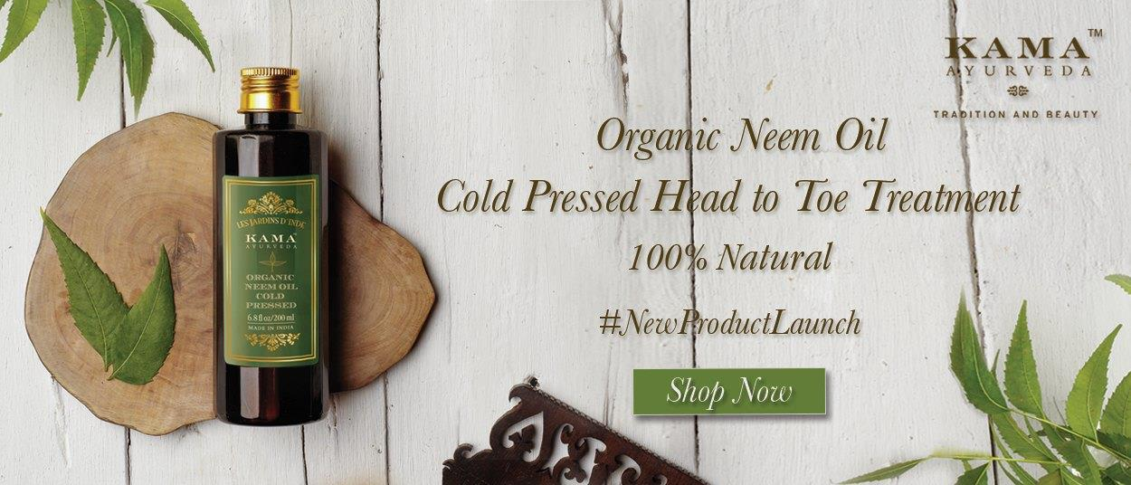 We Travelers Home Are Excited To Announce That We Are One Of The Kama Ayurveda Product Dealer In Ahmedabad.  The Brand New Organic Neem Oil Will Be Available In Our Stores, 100% Natural, Organic And Cold Pressed, This Oil Is Really Perfect  - by TRAVELERS HOME : Home Decor Products, Ahmedabad