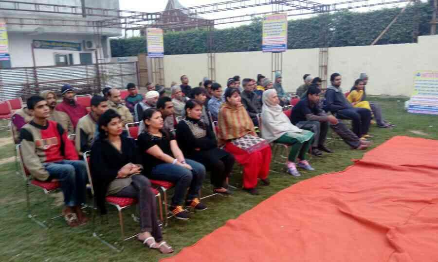 awareness camp for addiction in the society - by Shantiratn Foundation, New Delhi