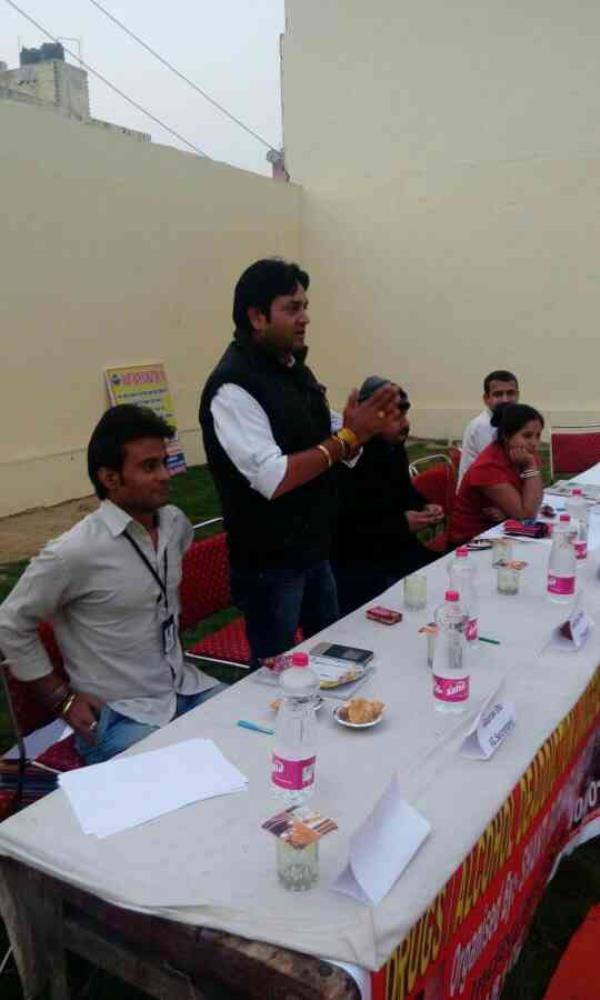 press conference at shantiratn foundation - by Shantiratn Foundation, New Delhi