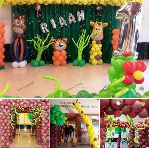 We all know that no party is complete without Balloons. That's what we are all about. We bring you the biggest, most colorful and most beautiful balloons for your event to make it a happy, memorable event. - by Balloon Decorators | Visakhapatnam, Visakhapatnam