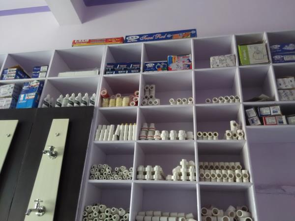 The shop is situated in front of Highway no need to go anywhere for shopping sanitary items we available all item that ur requirements  - by Agarwal Sanitary Hardware & Tiles, Alwar