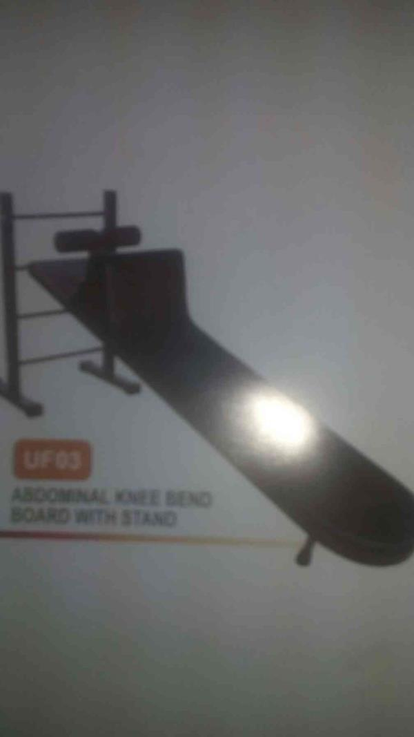 we are one of the manufacturer of twister single, abdominal knee bend board with stand. - by Unique Gym Equipment Pvt Ltd , Ahmedabad