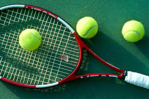Let's Learn Something About Tennis. :   Tennis is a racket sport that can be played individually against a single opponent (singles) or between two teams of two players each (doubles). Each player uses a tennis racket that is strung with co - by Ahmedabad International Sports Academy, Ahmedabad