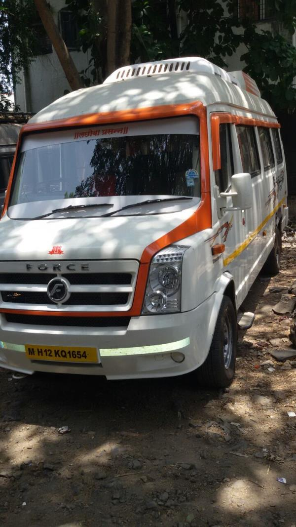Tempo Traveller on rent in Pune. if you find a tempo traveller in pune your search stop here we are providing Ac Tempo Traveller with recliner seats and well trained drivers for luxury and comfortable experience. call us now 9881132288 - by Amruta Tours And Travels 9881132288, Pune