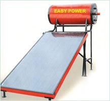 Solar Water Heater in Ludhiana  Easy Photovoltech's solar water heaters comprises of an evacuated tube solar collector and storage water tanks that are connected together; water tank on the top and evacuated tube collector on the bottom. Th - by Easy Photovoltech Pvt Ltd, Ludhiana