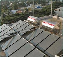 Flat Plate Industrial Solar Water Heater :  Industrial Solar Water Heater in Ludhiana      SOLAR THERMAL: There are two types of solar water heating systems, based on type of circulation;   1. Thermosyphon 2. Forced circulation  All domesti - by Easy Photovoltech Pvt Ltd, Ludhiana