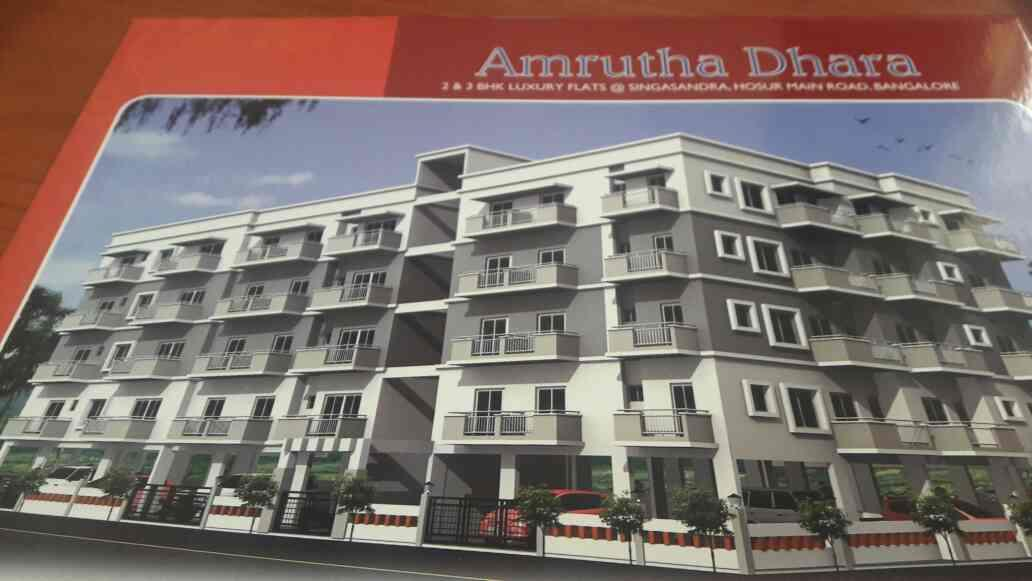 2bhk and 3bhk flats available for sale in singasandra - by Bab Dada Builders And Devolopers, Bengaluru