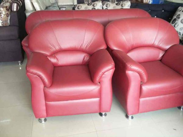 Tester big size pu soffa set 3+1+1 costmor price 21500 offering price 16800 choice colour available  - by mahadevi furnitures, opp lingampally bus stand A square building , below sony electronics Bhel X Road