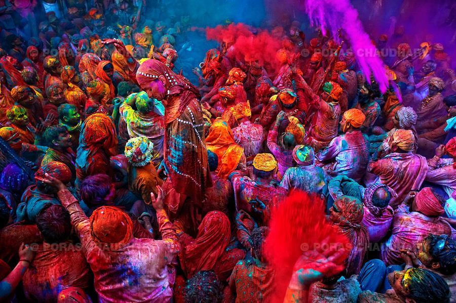 See India in Vibrant Colours  When you are travelling to India in the month of March, then you are sure to celebrate and enjoy the season of colours. This festival of colours is celebrated mostly in Northern India. Our North India trip cove - by Tree Trunk Travel Pvt Ltd, New Delhi