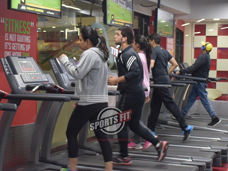 Sportsfit has Cardio training, Weight training, kickboxing, aerobics and Zumba training available all under one roof. It is the one stop shop for your fitness needs. Embrace fitness and good health with our special training techniques and  - by SPORTSFIT BY M.S.DHONI | 7669777774, Meerut
