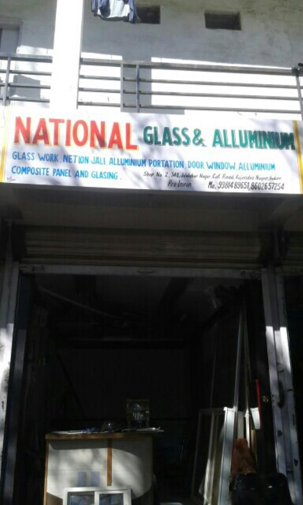 Windo glass dealer in Indore - by National Glass and Alluminium, Indore