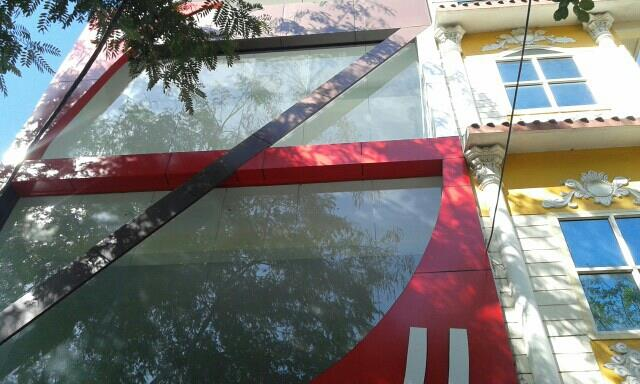 Alluminium composite pannel dealer in Indore - by National Glass and Alluminium, Indore