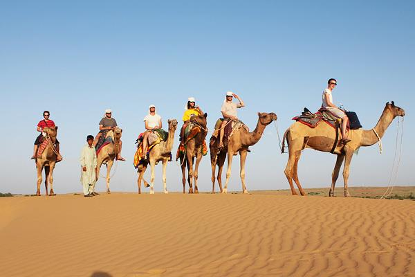 Golden City Jaisalmer  Jaisalmer is located in western India, extremely close to the boundary that India shares with neighbor country. The city is well-known for its art and technique. It is one of the bright holidays in India.  Jaisalmer i - by Tree Trunk Travel Pvt Ltd, New Delhi