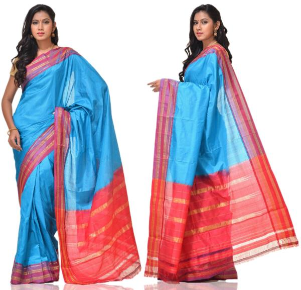 Price:- 4500/-   New Collections of Narayanpet sarees, Narayanpet silk sarees, Narayanpet cotton sarees, Narayanpet sarees online. Sign up now for E-book you will be updated with latest collection of ethnic verities. For More Info Click on: - www.uppada.com  We manufacture of Uppada sarees, Paithani sarees, Banarasi sarees, Venkatagiri Sarees, Gadwal Sarees, Khadi sarees, Hand Painted Kalamkari Dupatta, Ikkat sarees, Kanchipuram Sarees, Dupattas, Stoles etc. For more info us at 040 64640303, 441905005.  Buy online: - uppada.com  - by Paithani, Hyderabad