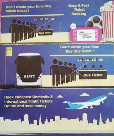 Book Online AIR Tickets, Movie Tickets, Pay Utility Bills here & Save Time.  - by SUKRUT ZEROX INDIA, Navsari, Gujarat