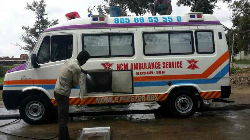 HOSURA AMBULANCE  - by NCM Ambulance Service, Krishnagiri