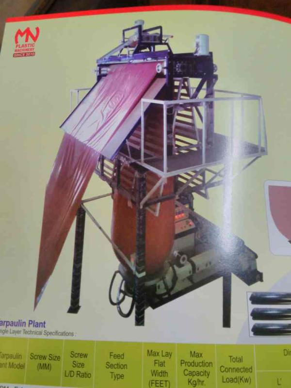 we are leading manufacturer of Plastic Extrusion machinery in Ahmedabad. - by Maruti Nandan Plastic machinery, Ahmedabad