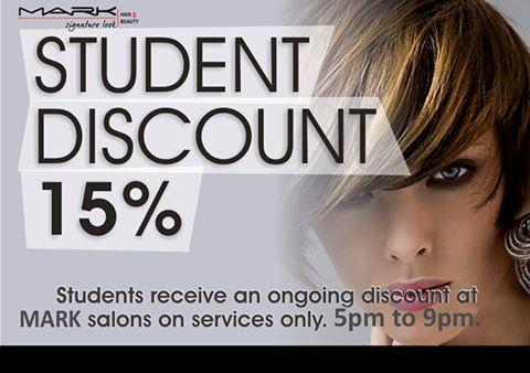 Students I'm sure You Don't Want To Miss This, Avail the Discount Right Now! #BudgetSalons #SalonForStudents  - by Mark Signature Look, Visakhapatnam