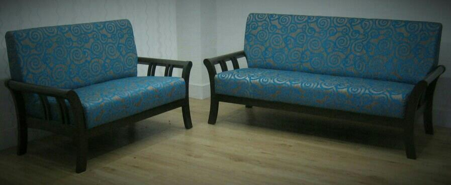 Teak wood furniture, Customized wooden sofas in Pune. - by Kozy Corner, Pune
