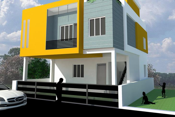 Turnkey Projects For Residential-Educational-Corporate-Industrial Sectors  The Major Services offered by Blessing Builders are • Taking requirements from client • Preliminary Designs & Drawings for study and discussion • Feasibility studies - by Blessing Builders, Chennai