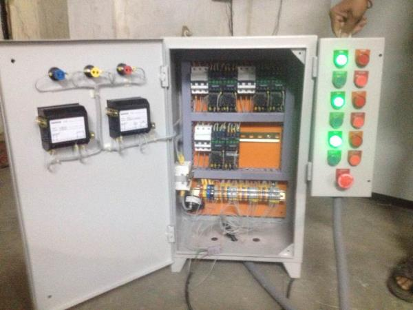 Tube polishing machine  Control panel - by Spark Automation, Ahmedabad