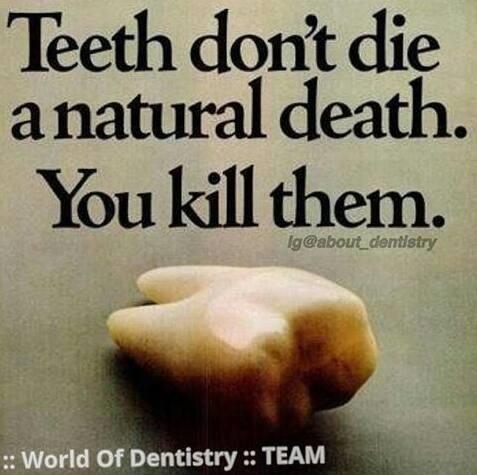 """Save your teeth before it die a young death... """"Best Dental Hospital In Bangalore"""". - by Ayush Speciality Dental Care, Bangalore"""