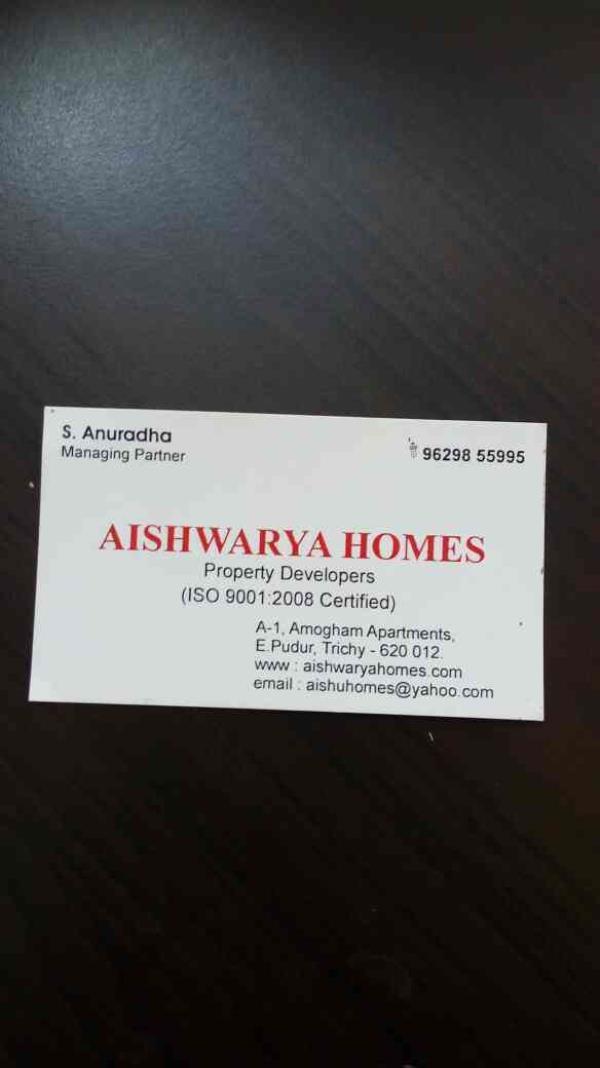 flats in trichy - by Aishwarya Homes, Tiruchirappalli
