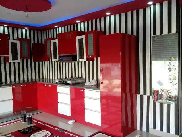 creative ideas for modular kitchens - by Light Tracer Technics, Bangalore