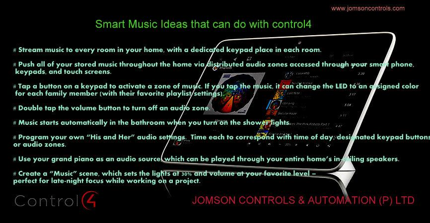 Music ideas - by Jomson Controls & Automation (P)Ltd, Ernakulam