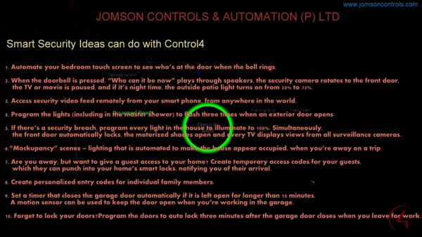 Safe + Smart - by Jomson Controls & Automation (P)Ltd, Ernakulam