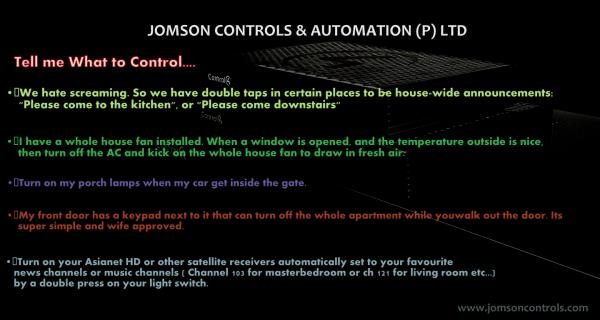 Other Smart ideas - by Jomson Controls & Automation (P)Ltd, Ernakulam