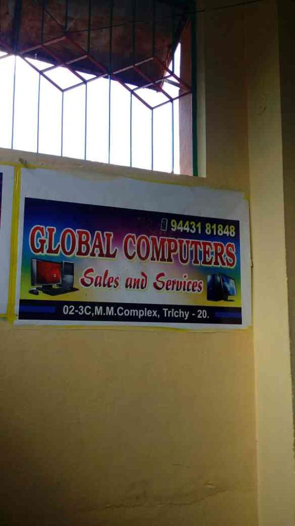we are best computer sales and services in trichy - by Global Computers, Trrichy