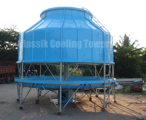 Classik Cooling Towers In Coimbatore Cooling Towers In Coimbatore Round Cooling Towers In Coimbatore Modular Cooling Tower In Coimbatore Fan less Filles Cooling Tower - by Classik Cooling Towers, coimbatore