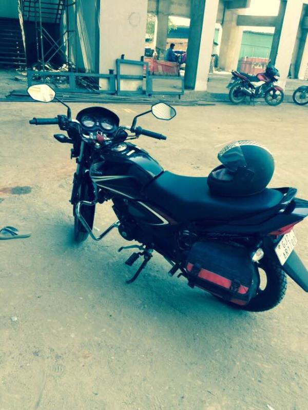 4 month use cb shine good condition self start good price - by Geeta Auto consultancy, Ahmedabad
