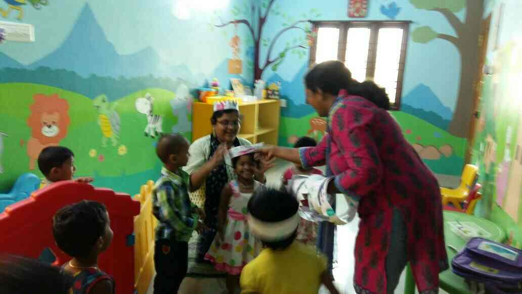 It's the THEME TREAT!! - by sky bloo playhouse for kids, chennai