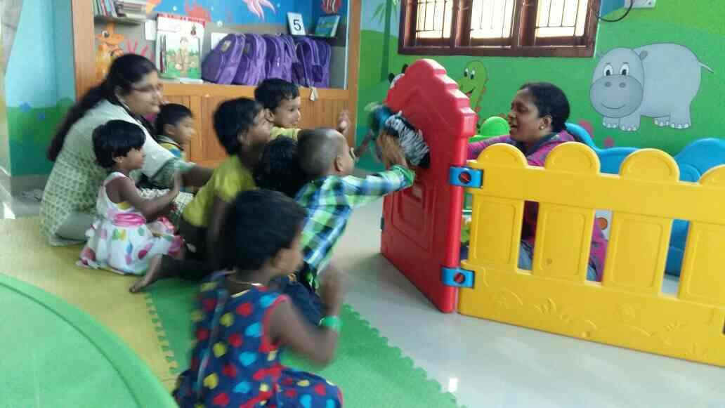 The puppet show! - by sky bloo playhouse for kids, chennai