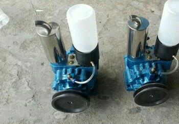 Milky vacuum pumps  - by Shreeji Engineering, Ahmadabad