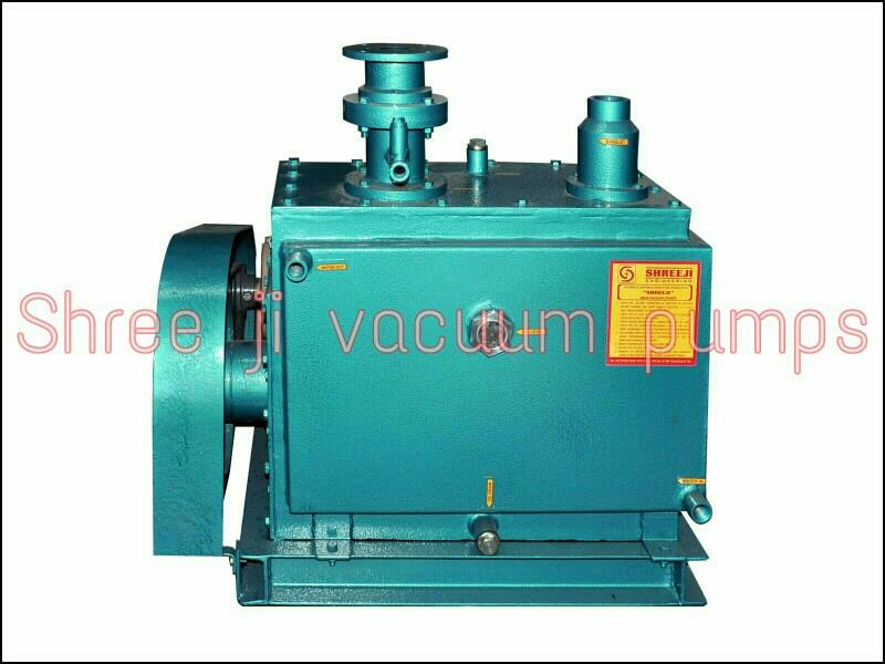 High vacuum pumps  LPM. 50 to 30 000  CFM. 1.8 to 880 Pumps. RPM. 500 Motor. Rpm. 1450 Vacuum 0.005 - by Shreeji Engineering, Ahmadabad