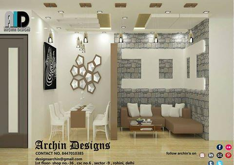 Contact:8447010385 Archin designs •Home renovation, •Interior designing Of both residential(flats, apartments, kothis) and commercial property(offices, showroom etc) •2D & 3D drawings •Supervision and consultancy services •Space management  - by Archin Designs, Delhi