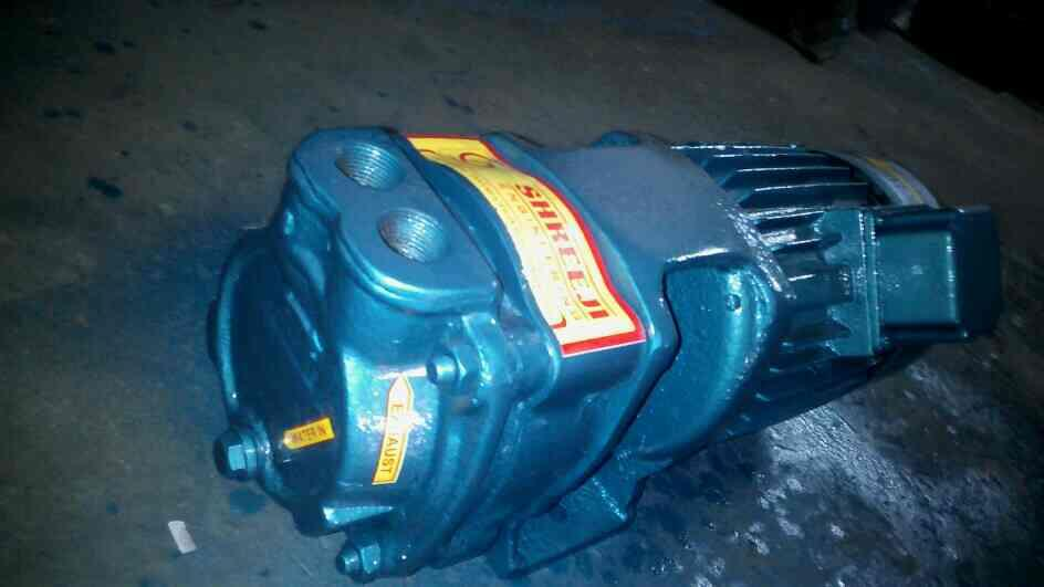 water Ring vacuum pumps  motor HP. 05 to HP 7.5 RPM. 2850 - by Shreeji Engineering, Ahmadabad