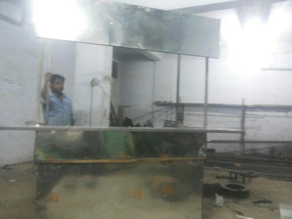 over product  fast foods  stall  - by Chauhan Engineering, Ahmedabad
