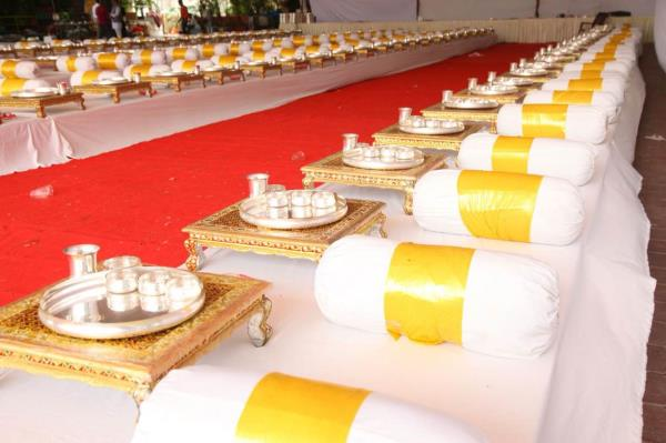This is an decorations by us for the weddings  - by Shri Bala Ji Caterers, Indore