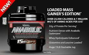 Anabolic load mass energy solution which provides energy  - by Anabolic Nutition, Beside Mahalaxmi Theatre Kothapet Hyderabad