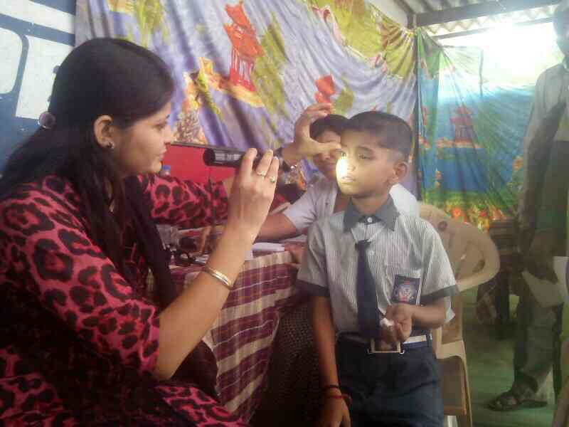 free eye checkup camp.. - by Shivkala Netralaya, Aurangabad