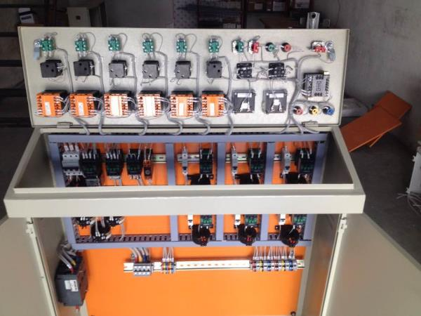 6 zone  Extrusion machine  Control panel.  - by Spark Automation, Ahmedabad