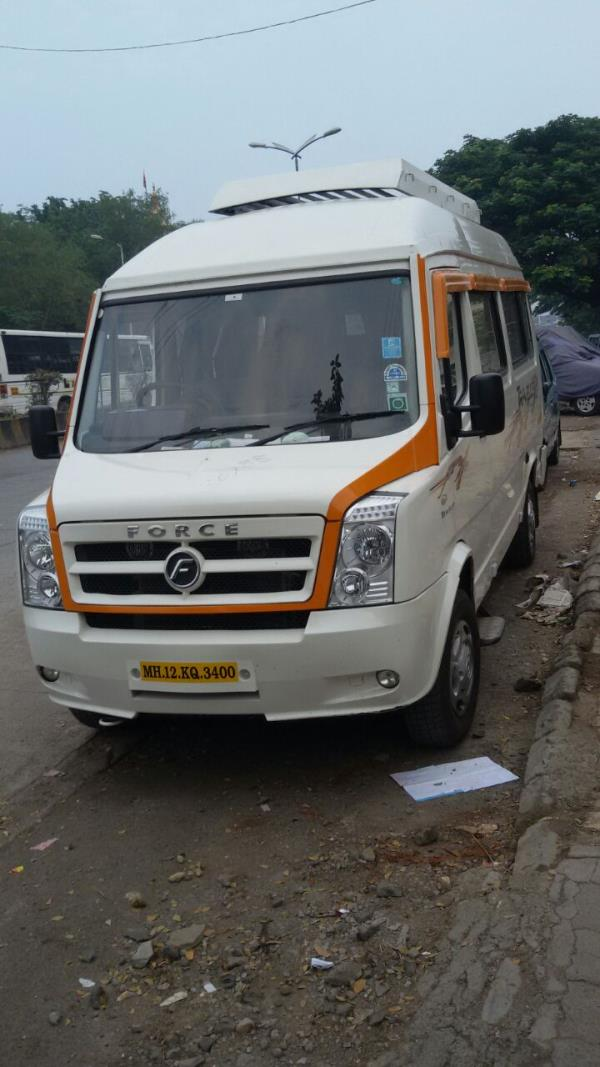 amruta travels is a well known name for Tempo Traveller on Rent. our specialty in all seaters Tempo Traveller 13, 15, 17, 19, 21, 35, 45, 55 with air conditioning and recliners seats and multi channel lcd. - by Amruta Tours And Travels 9881132288, Pune