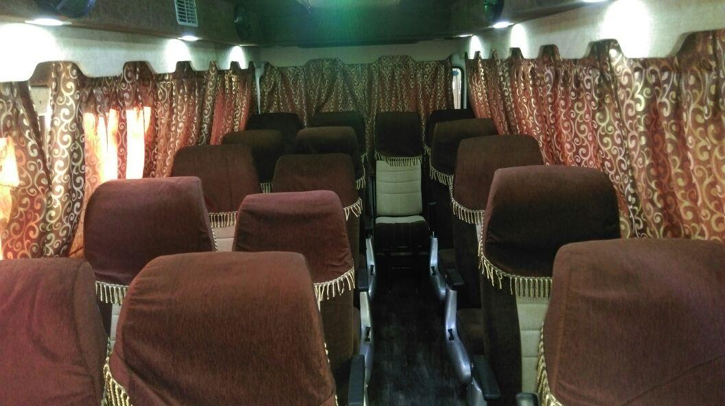 AC Tempo Traveller on rent in Pune.   - by Amruta Tours And Travels 9881132288, Pune