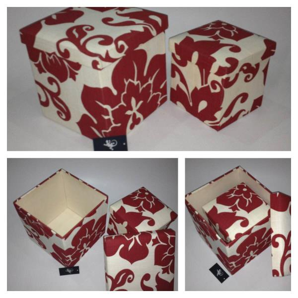 Customised gift boxes for all occasions. Any size , colour , fabric , shape. Chameleon Accessories    - by Chameleon Leather Accessories, New Delhi